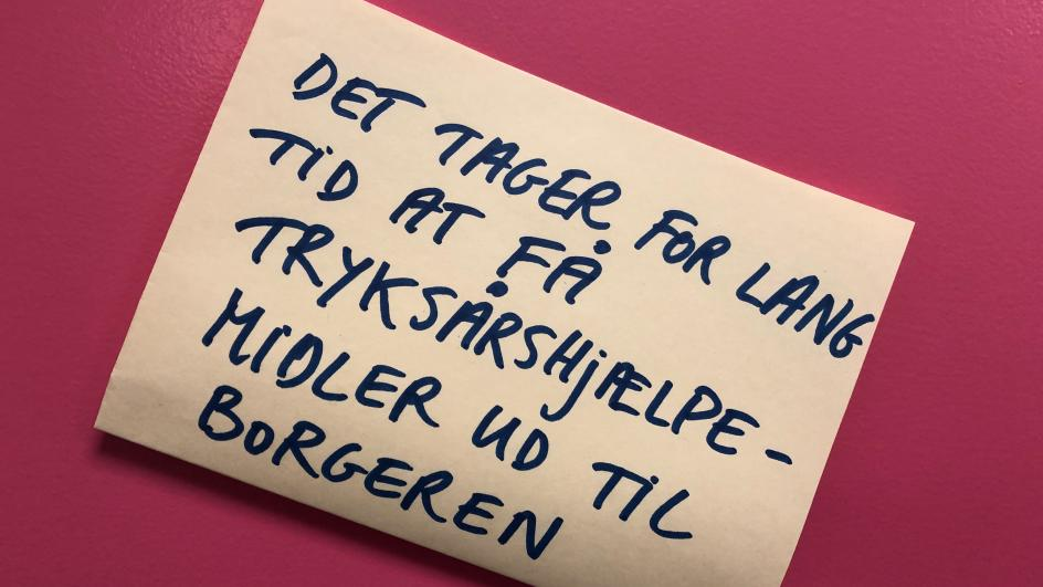 Post it Haderslev